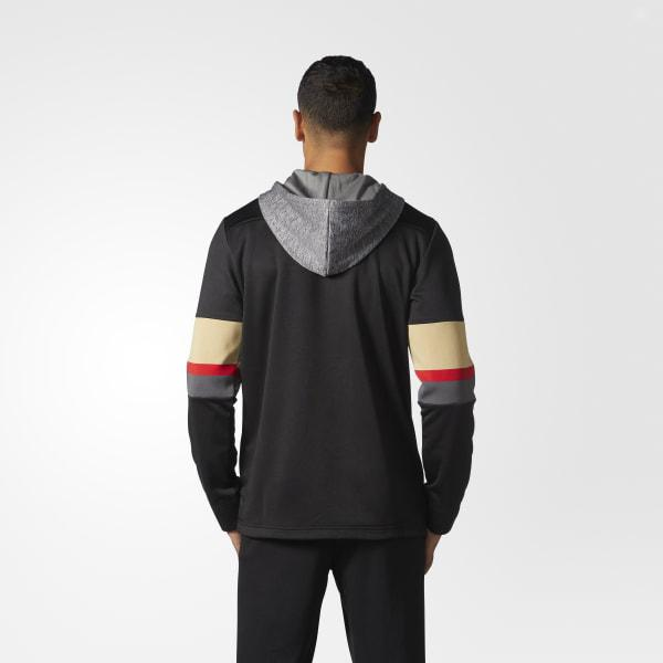 Lyst - adidas Golden Knights Jersey Replica Pullover Hoodie in Black ... 5e926f82b