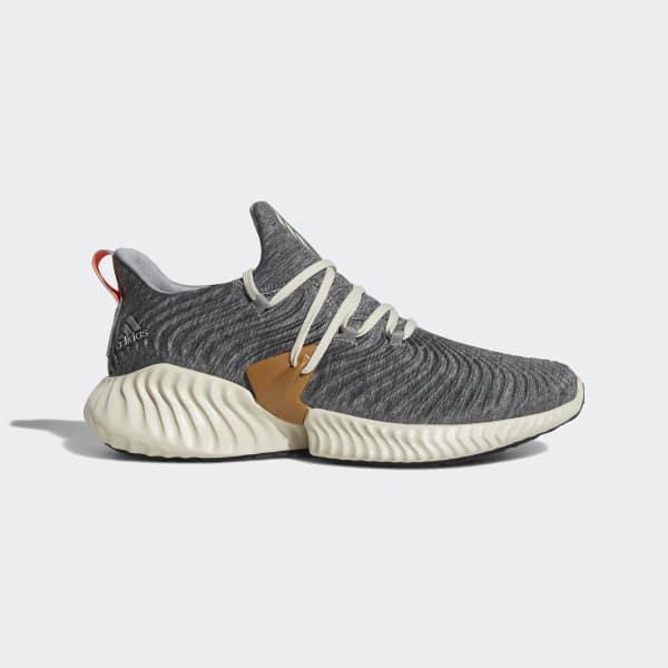 big sale b16c4 ecfe7 adidas. Mens Gray Alphabounce Instinct Shoes