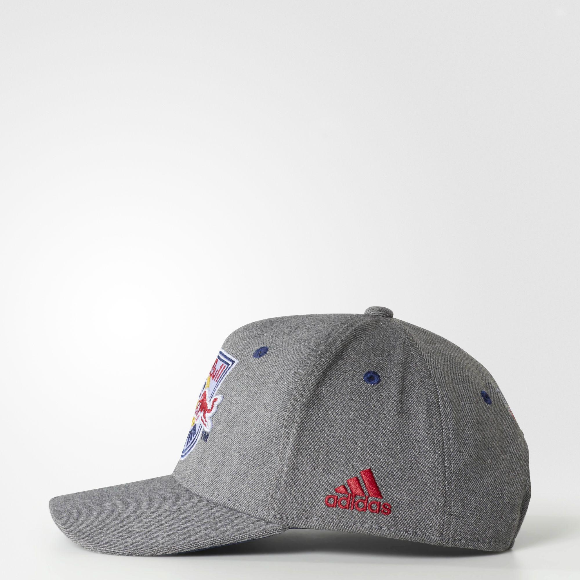 244327fa8e3c2 Lyst - adidas New York Red Bulls Structured Hat in Gray for Men