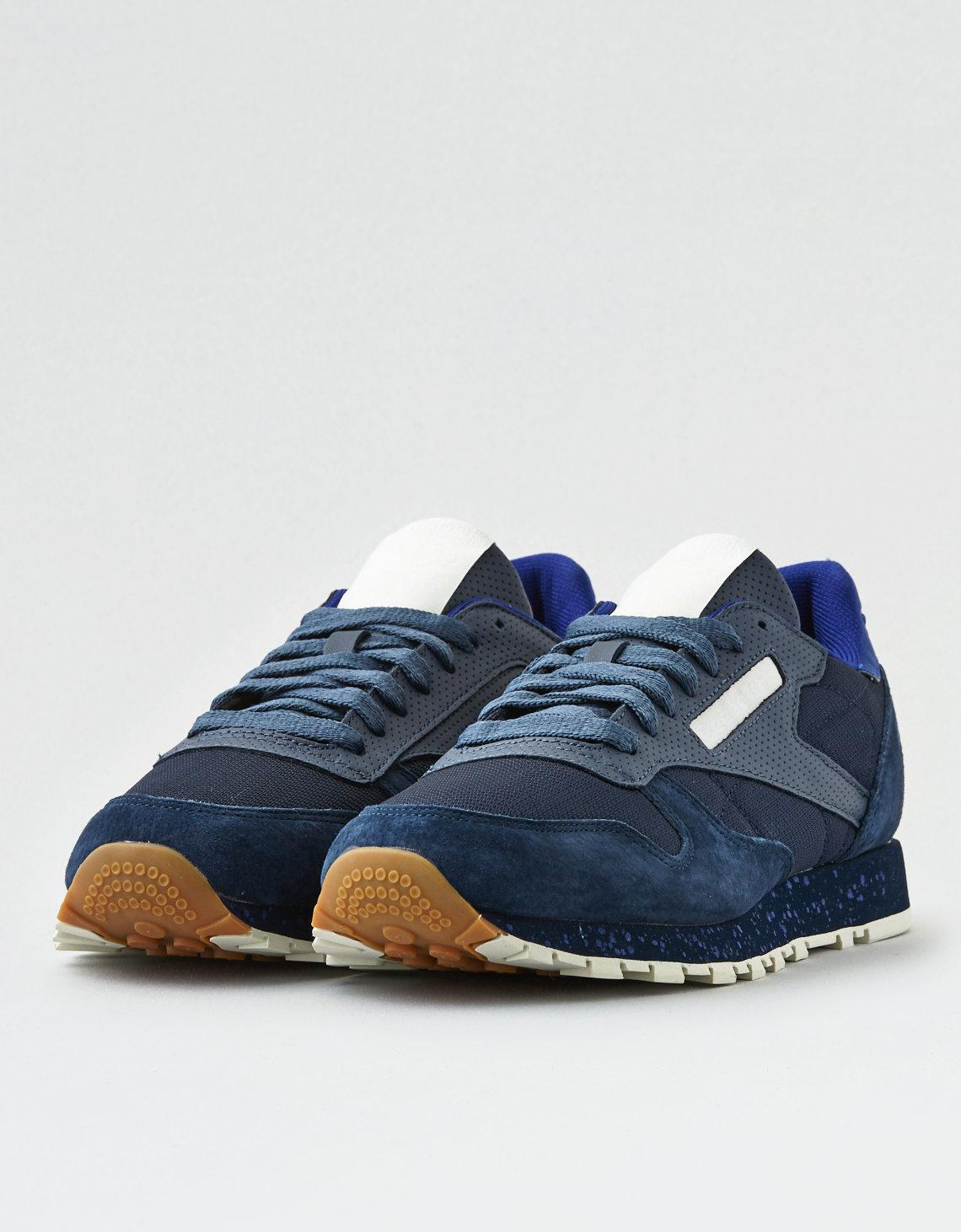 Lyst - American Eagle Reebok Classic Leather Sm in Blue for Men 664a74535