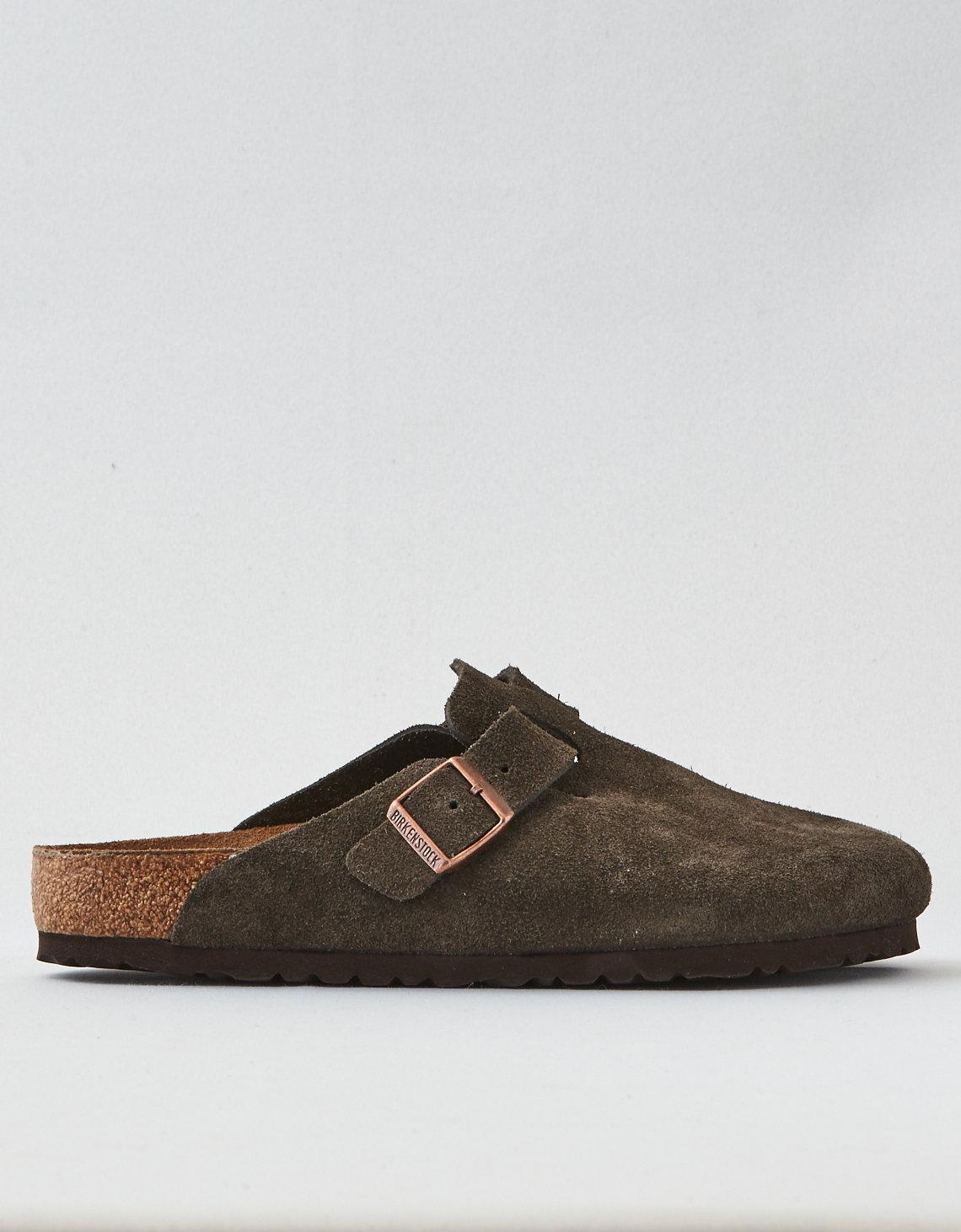 3aa1fc51f85 Lyst - American Eagle Birkenstock Boston Clog in Brown for Men