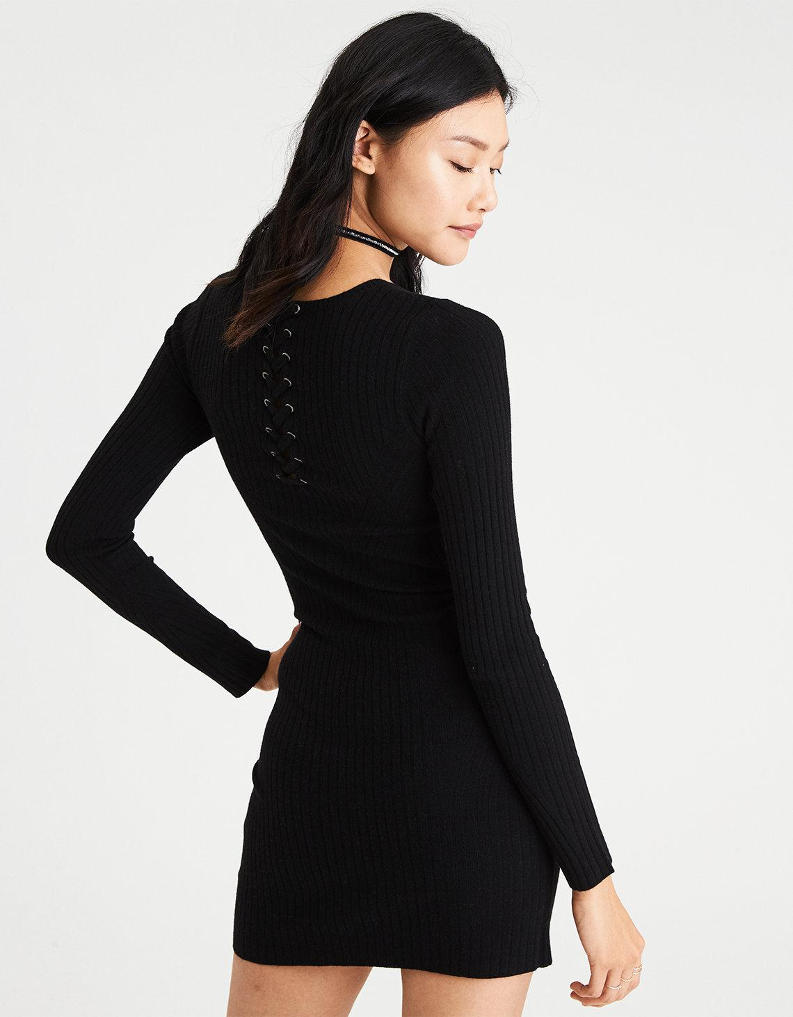 05f3d6a5ebe Lyst - American Eagle Ae Ahh-mazingly Soft Ribbed Bodycon Sweater ...
