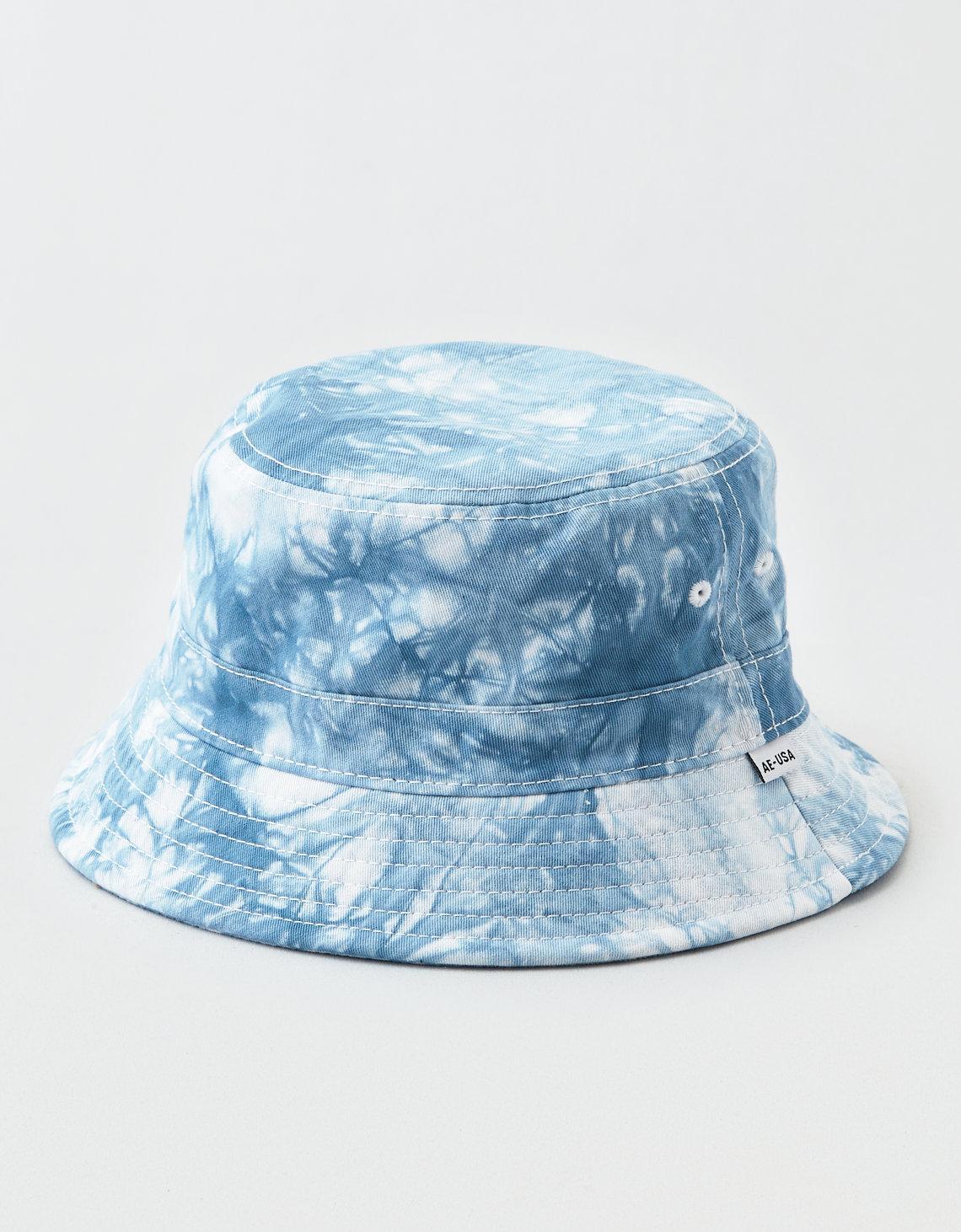 a9b2f472753b1 Lyst - American Eagle Tie Dye Bucket Hat in Blue for Men