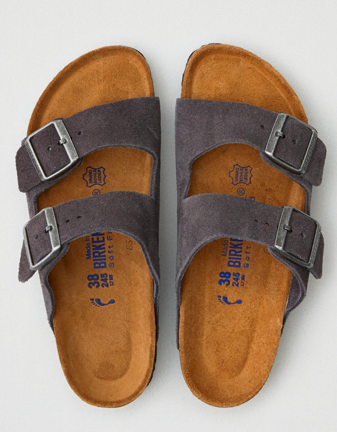 da2f726150d Lyst - American Eagle Birkenstock Arizona Soft Footbed in Gray