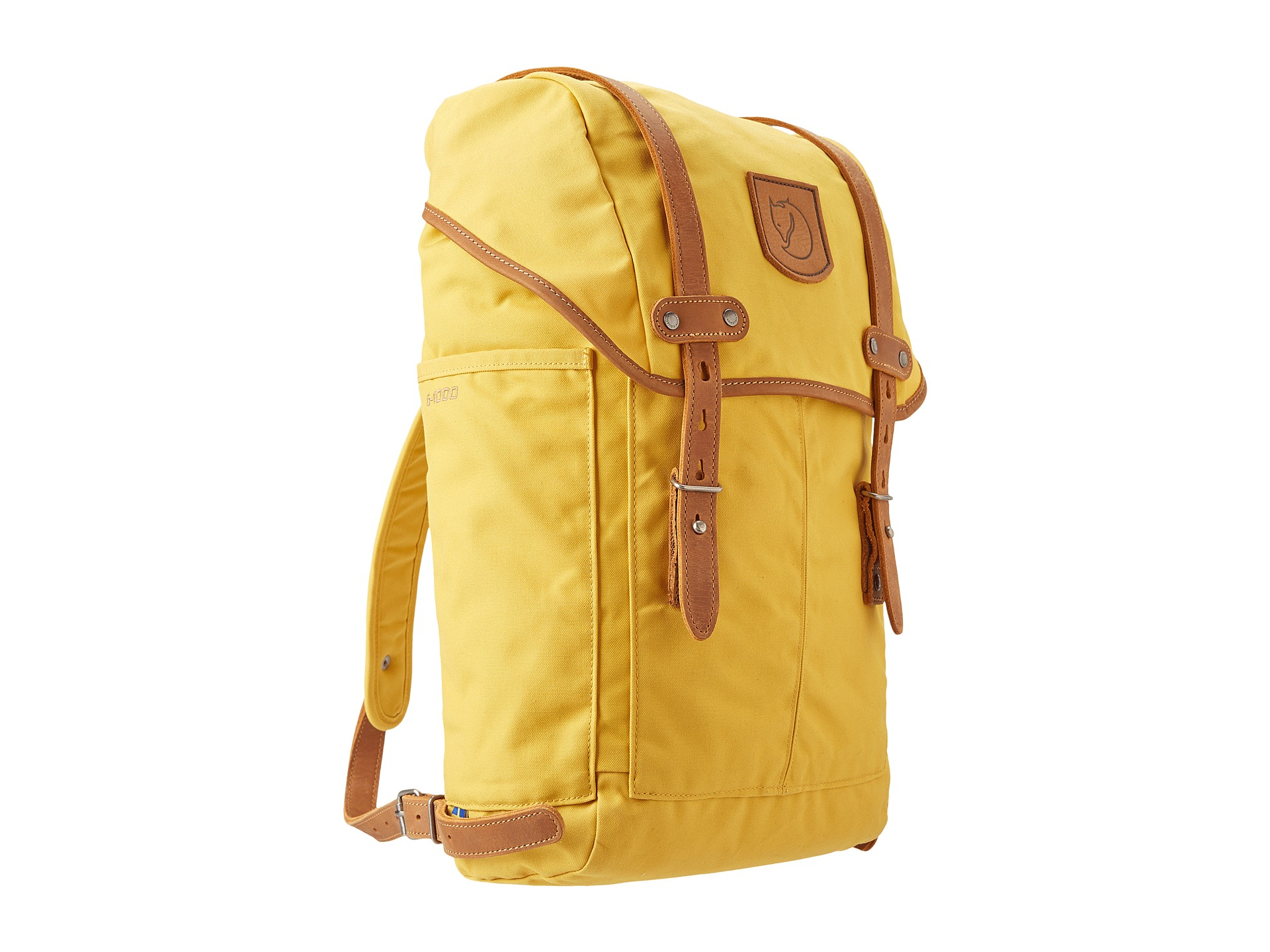 3463bab0d4b5 Lyst - Fjallraven Rucksack No. 21 Small in Yellow for Men