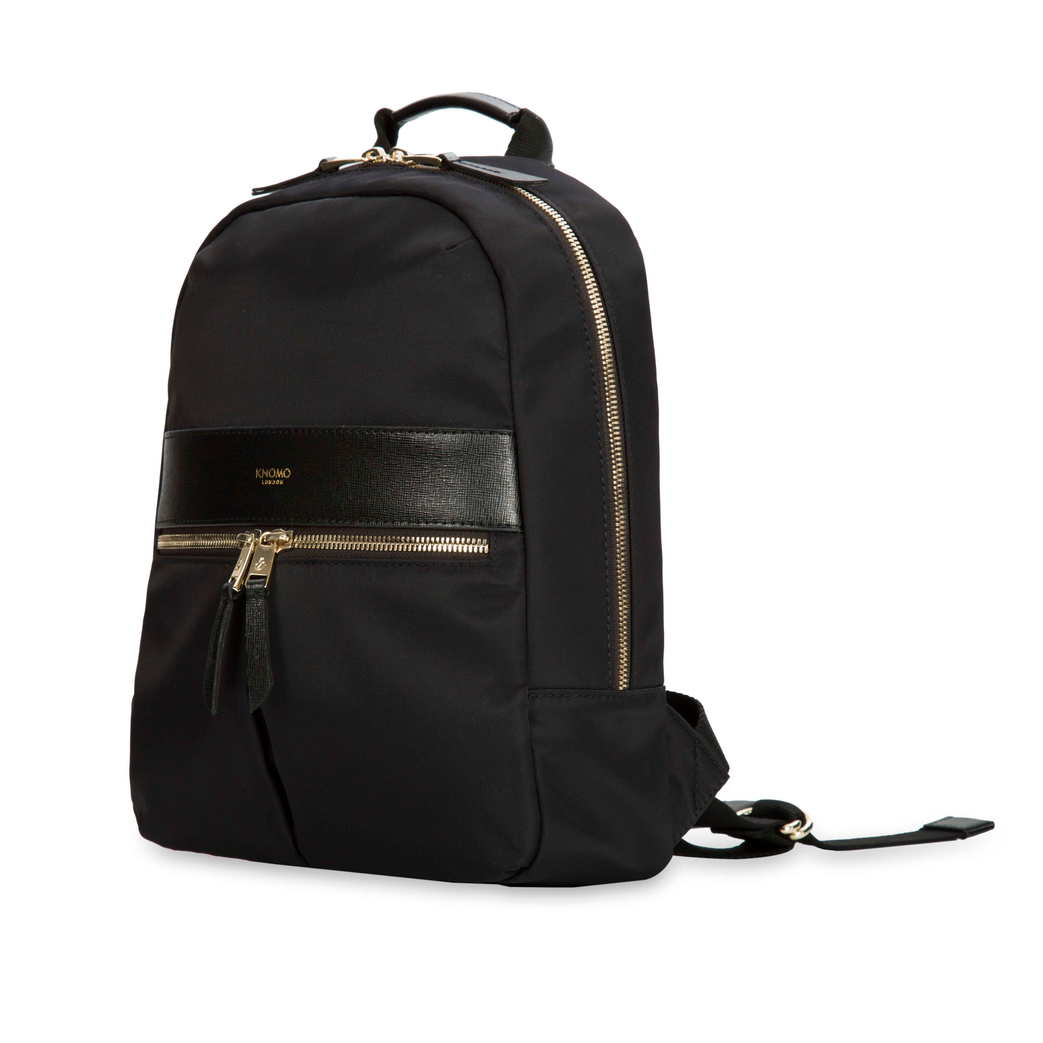 Knomo Baby Beauchamp 10 Backpack Black In Black Lyst