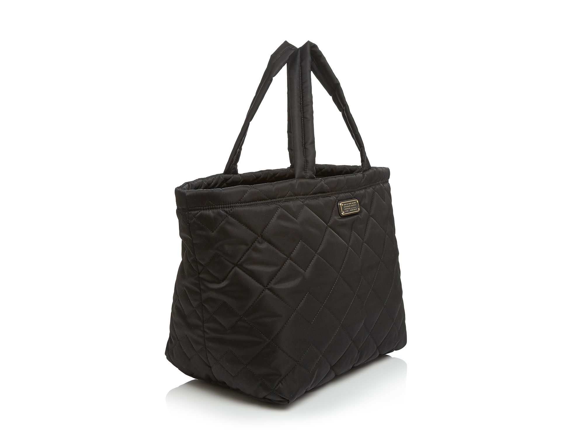 Lyst - Marc by marc jacobs Weekender - Crosby Quilt Nylon in Black : marc jacobs quilted tote bag - Adamdwight.com