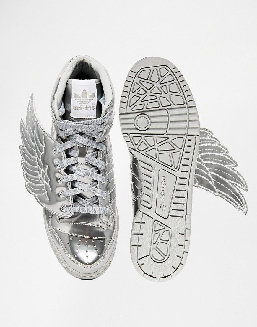 686d2eb1bbf1 Lyst - adidas Originals X Jeremy Scott Wings Metal Sneakers S77798 in  Metallic for Men