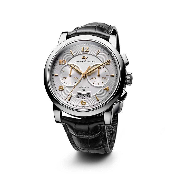 david yurman classic 43 5mm stainless steel chronograph