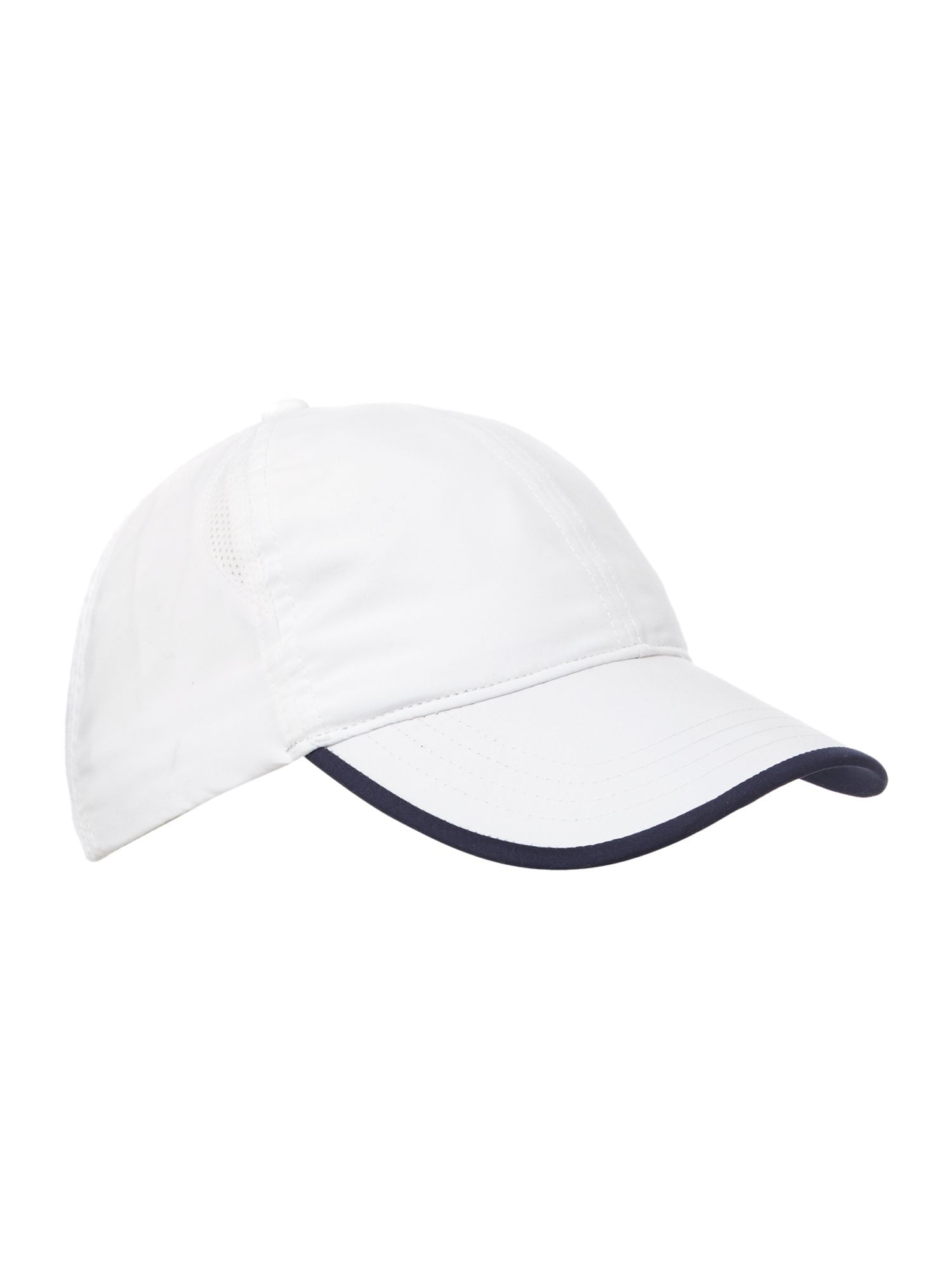 fred perry baseball tennis cap in white for men lyst. Black Bedroom Furniture Sets. Home Design Ideas