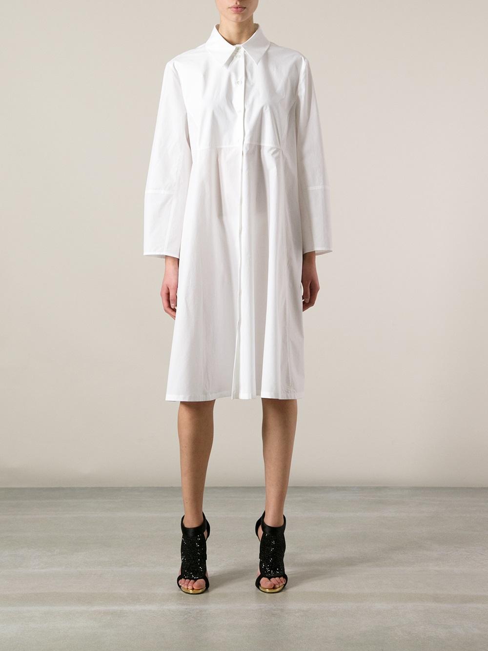 White Long Shirt | Is Shirt