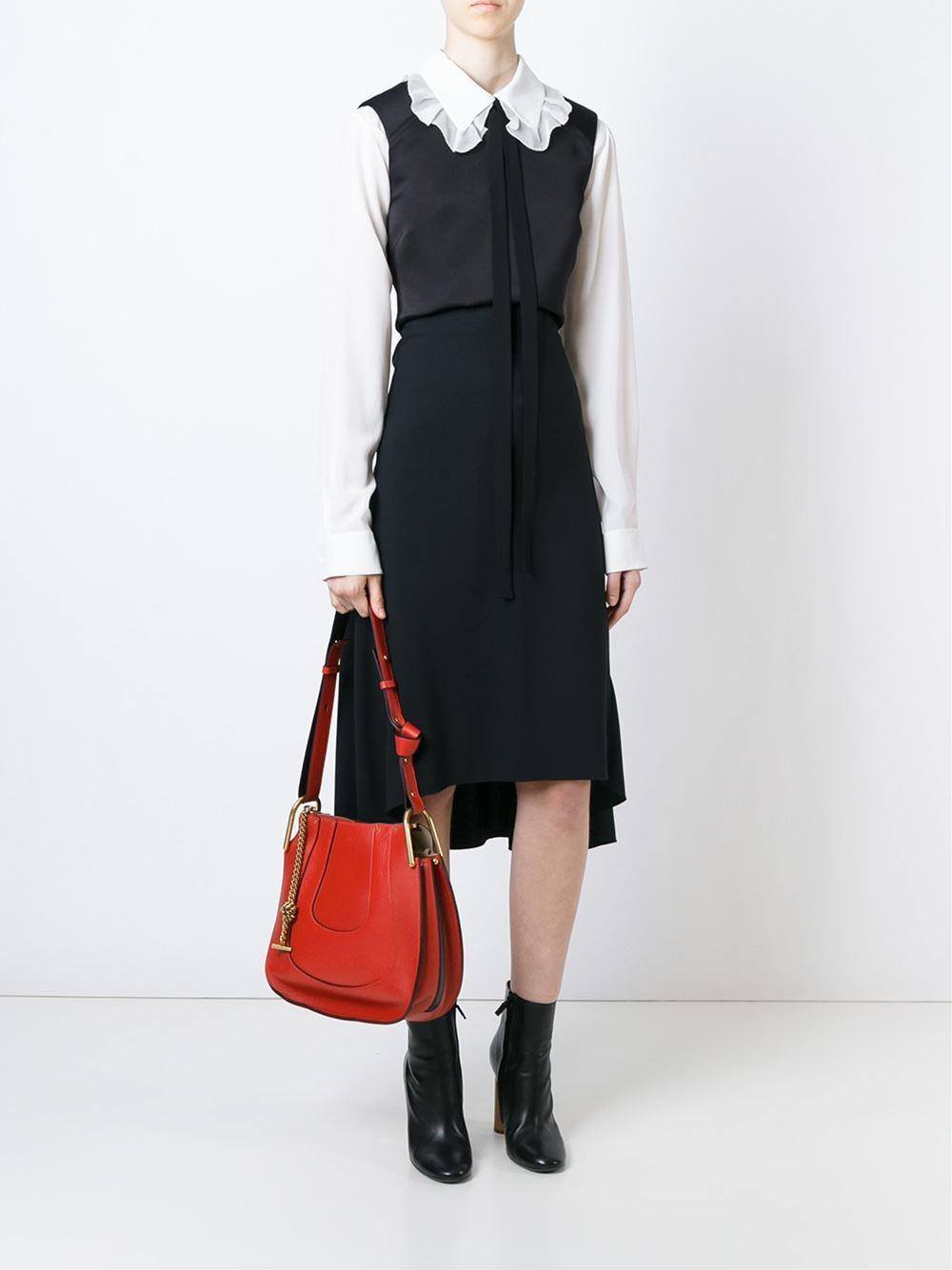 chloe replica handbag - Chlo�� \u0026#39;hayley\u0026#39; Shoulder Bag in Red | Lyst