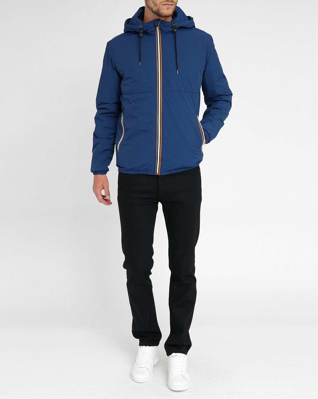 jack jones jacket in blue for men lyst. Black Bedroom Furniture Sets. Home Design Ideas
