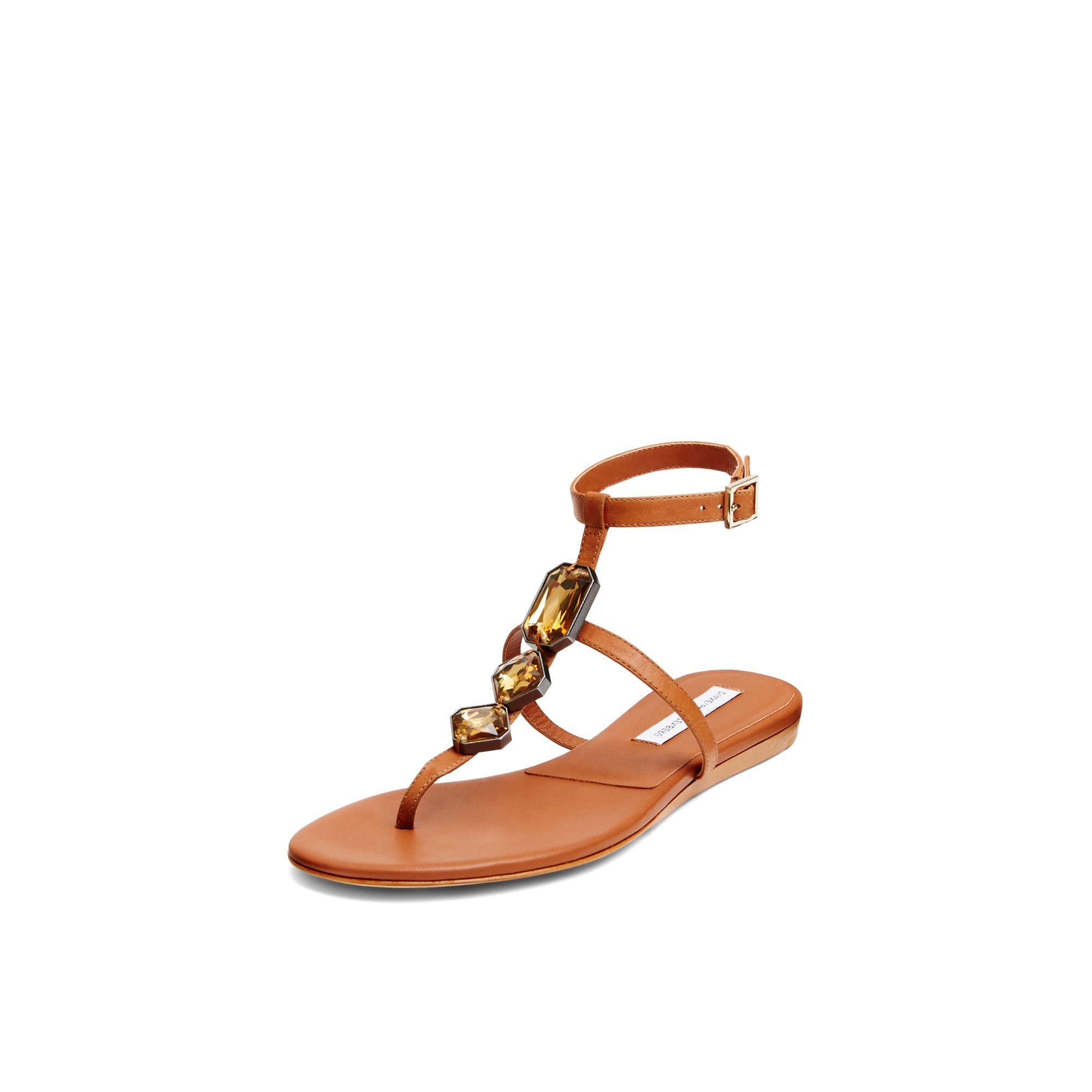 buy cheap exclusive Diane von Furstenberg Embellished Slingback Sandals buy cheap enjoy nRJh2N7