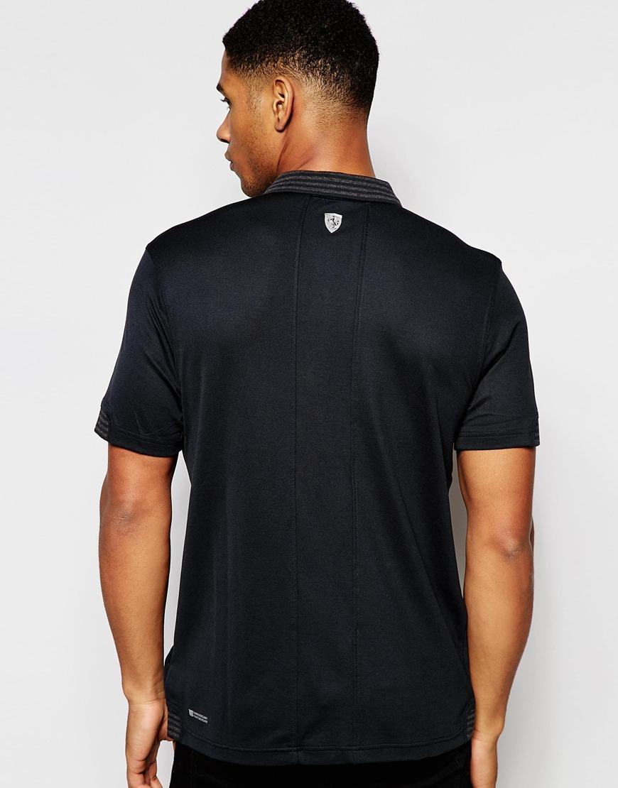 f03dbc20 PUMA Ferrari Polo Shirt in Black for Men - Lyst