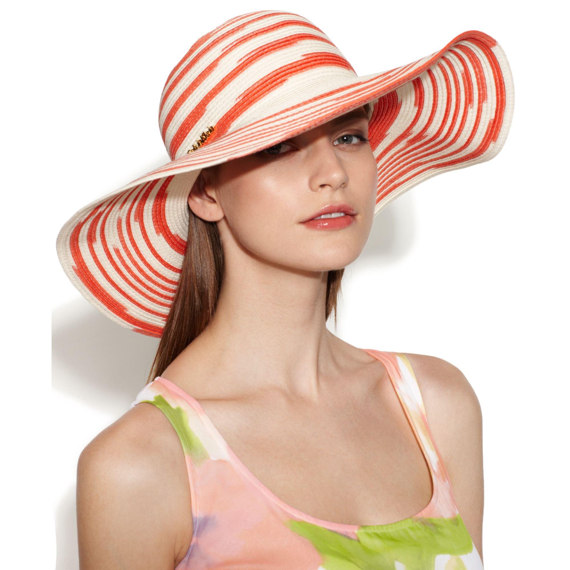 c43e3114 Calvin Klein Space Dyed Sun Hat in Blue - Lyst