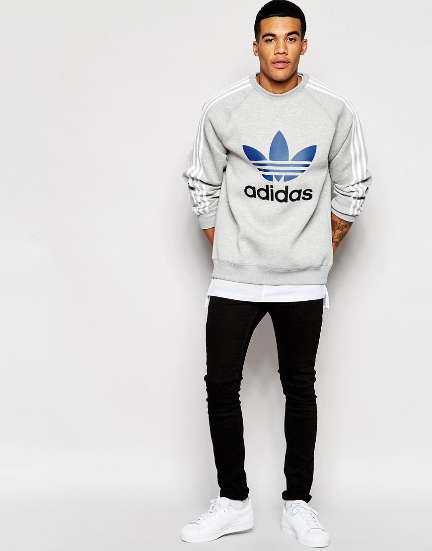 adidas adidas originals trefoil sweatshirt