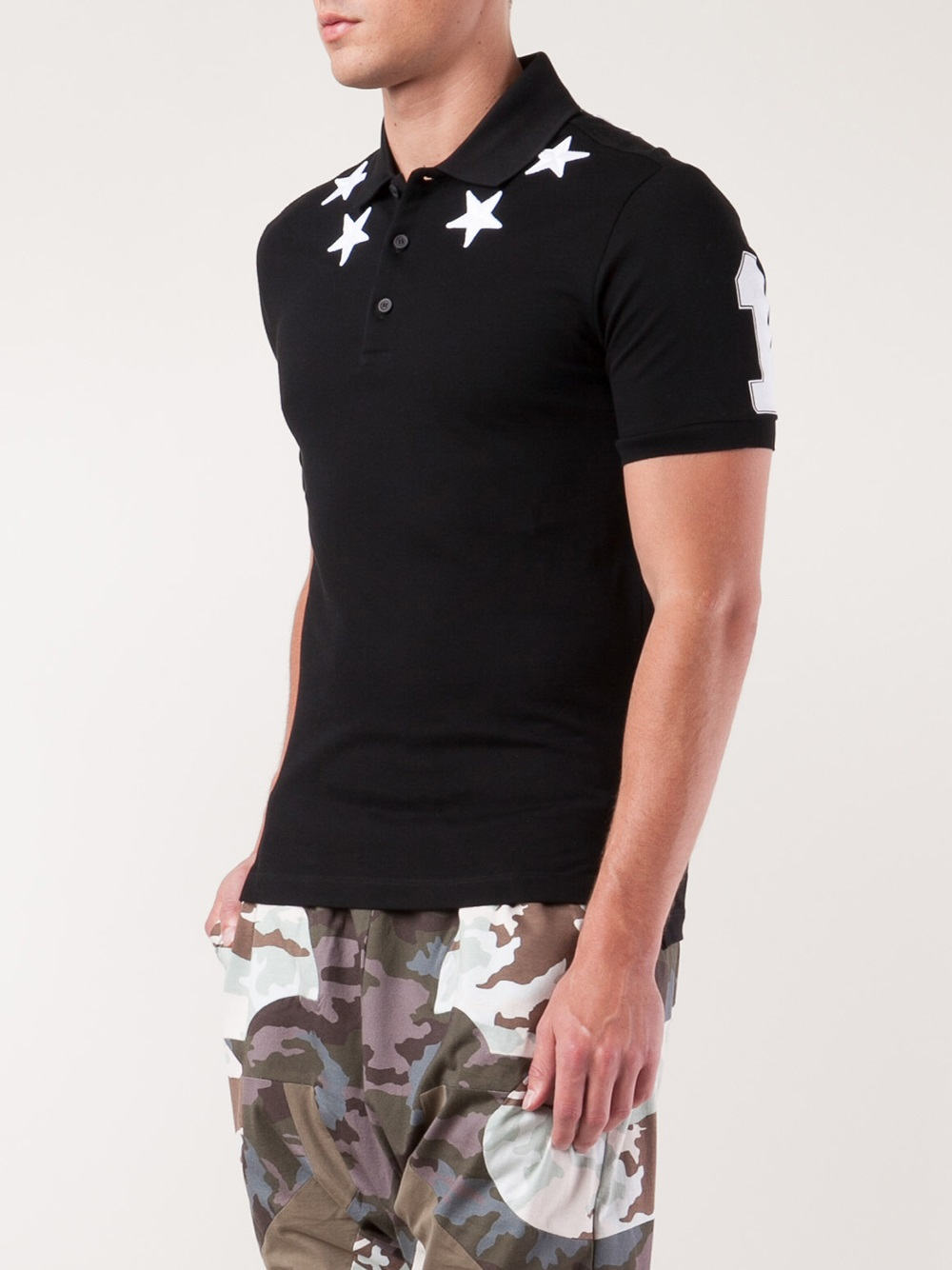 Givenchy Cuban Fit Polo Shirt In Black For Men Lyst