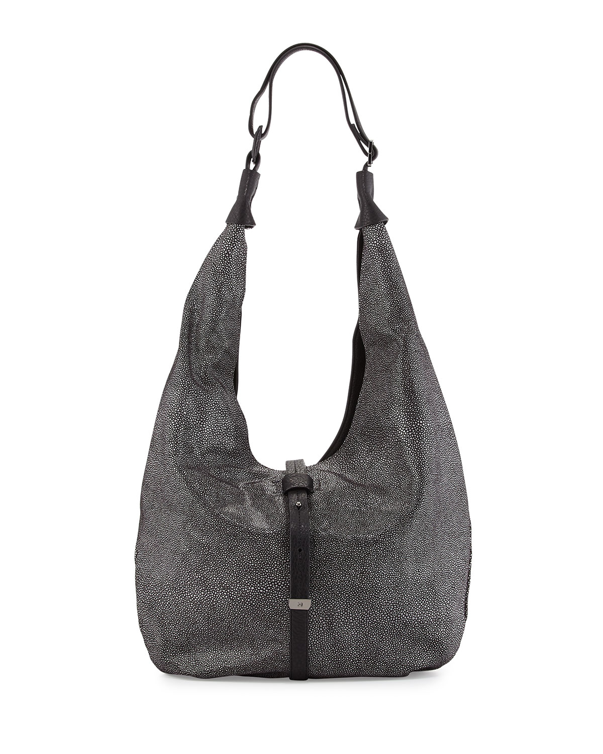 4870a30b05 Lyst - Halston Colorblock Hobo Bag in Gray