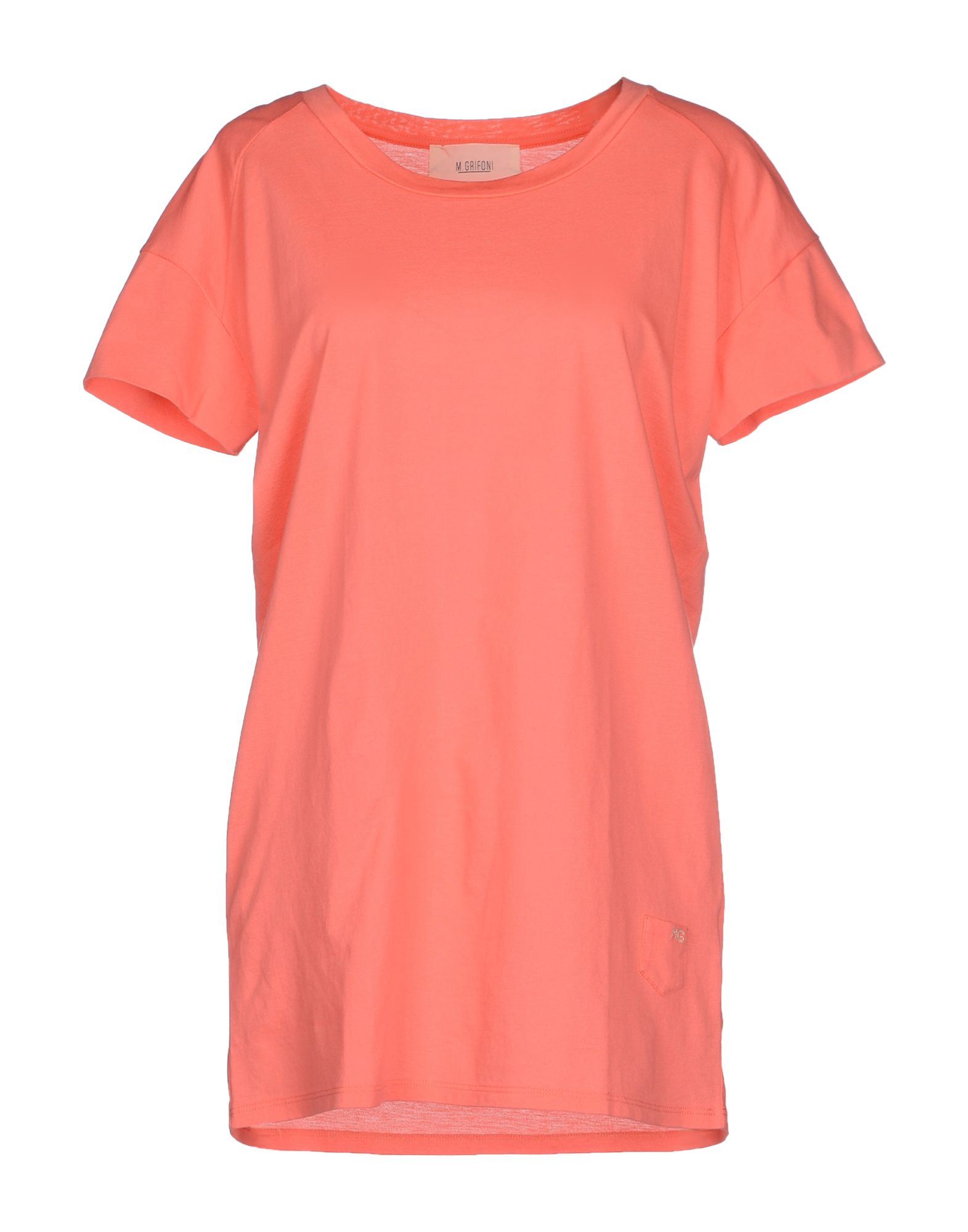 M Grifoni Denim T Shirt In Pink For Men Coral Lyst