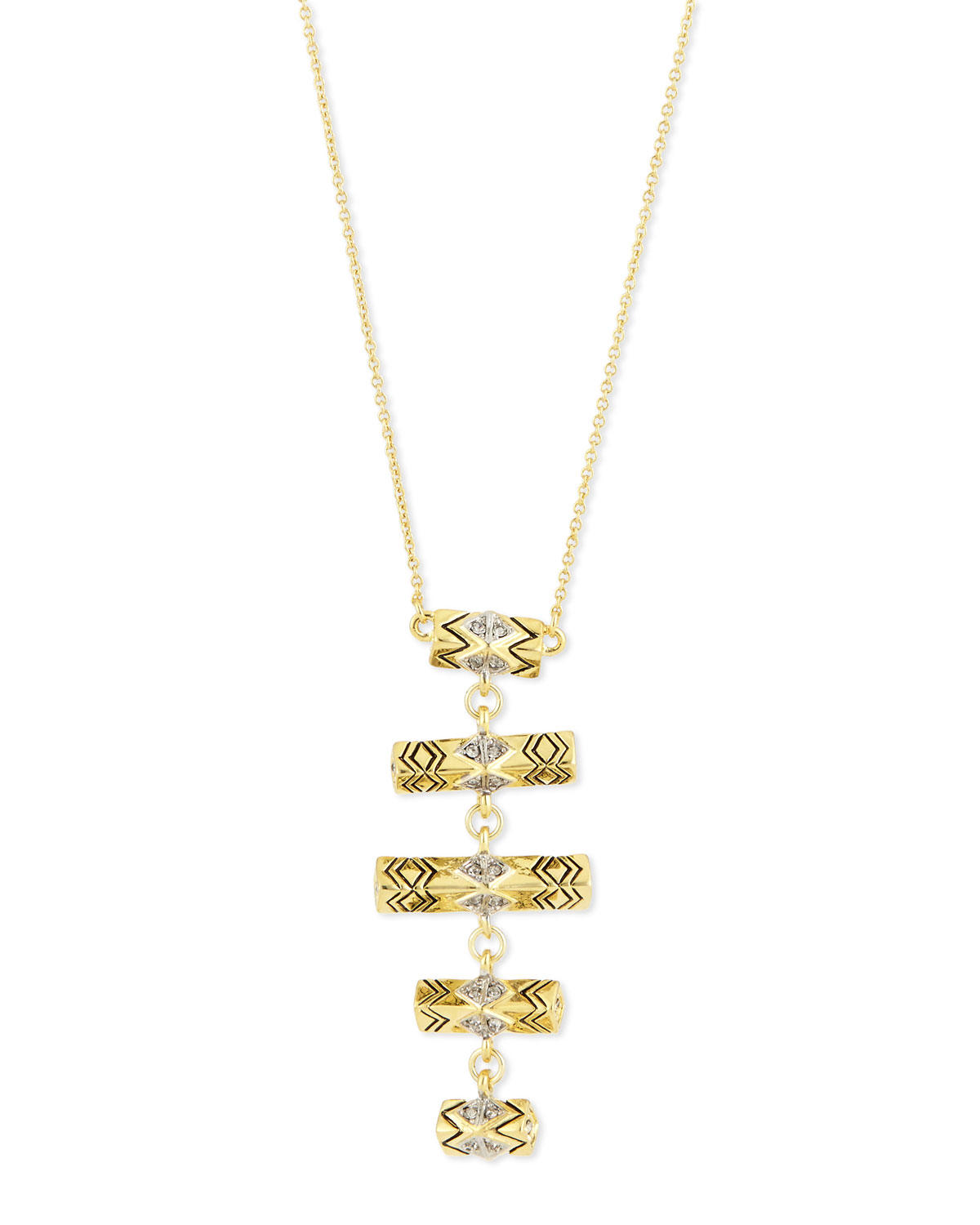 three tier necklace tiered zetske shop