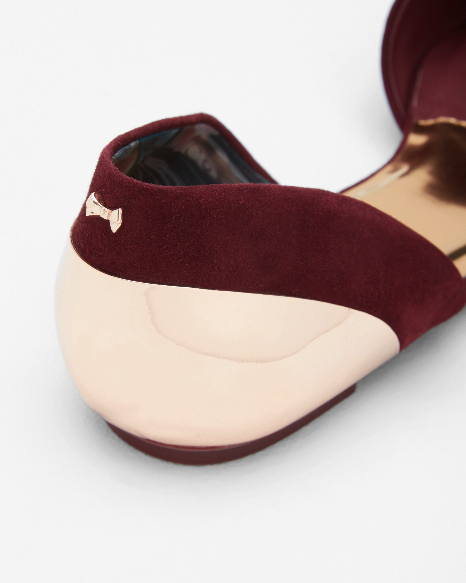 Ted Baker Black Shoes Pointed Flat