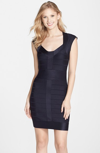 Lyst French Connection Miami Spotlight Cap Sleeve Bandage Dress