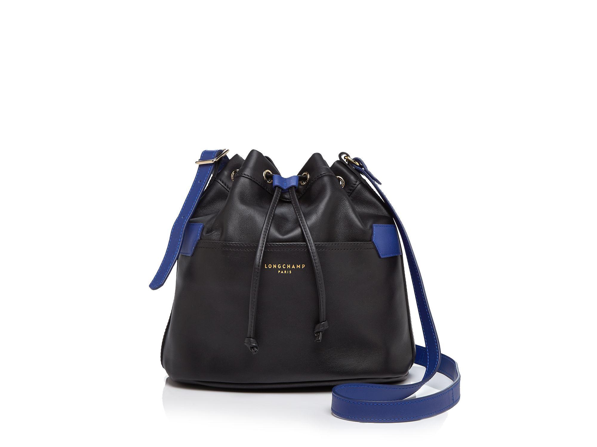55c8b7126a1 Lyst - Longchamp 2.0 Bucket Bag in Black