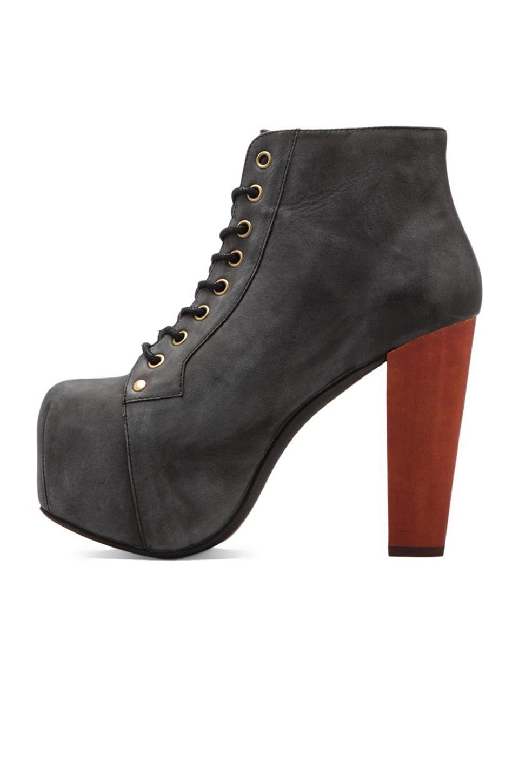 Lyst jeffrey campbell lita platform lace up boot in black - Jeffrey campbell lita platform boots ...