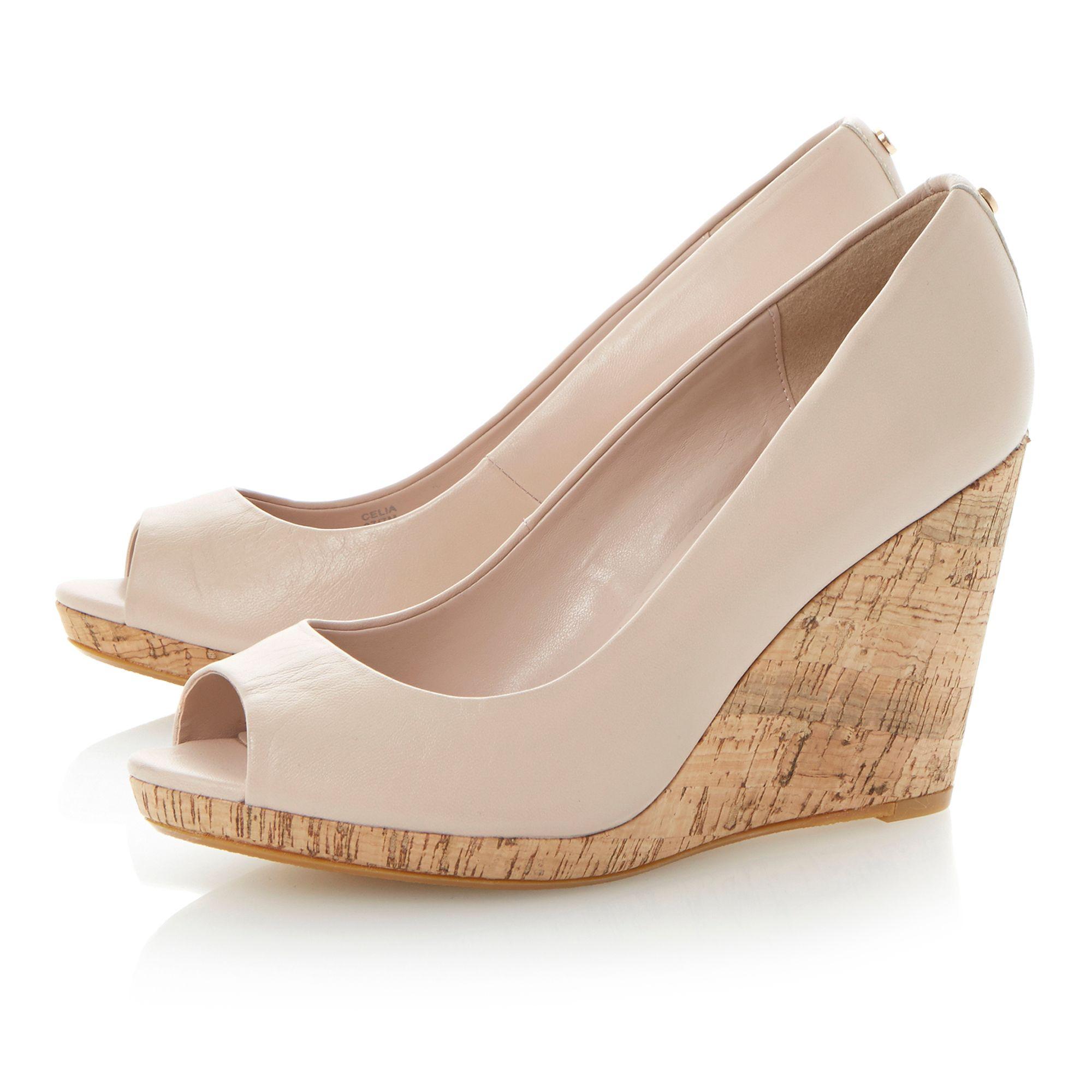 Dune Ladies Shoes Blush