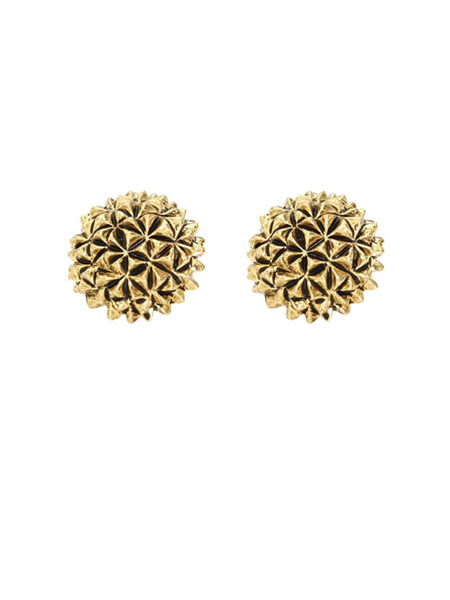 house of harlow 1960 mini crater stud earrings in gold lyst
