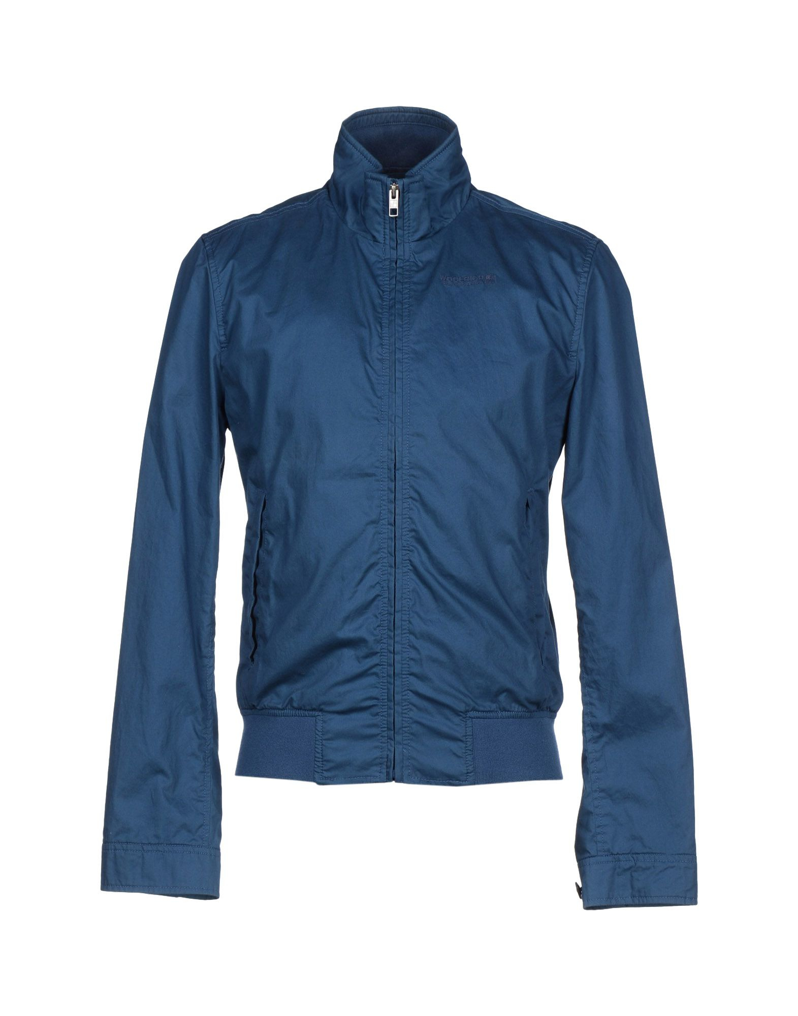woolrich jacket in blue for men deep jade lyst. Black Bedroom Furniture Sets. Home Design Ideas
