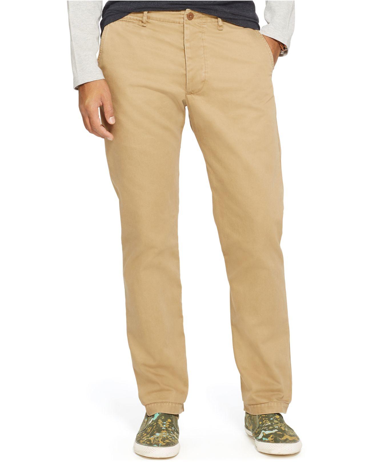 Denim & supply ralph lauren Men's Cotton Twill Pants in Brown for ...