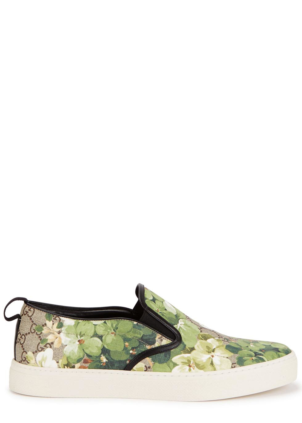 b6a293f5e Gucci Floral-print Skate Shoes for Men - Lyst