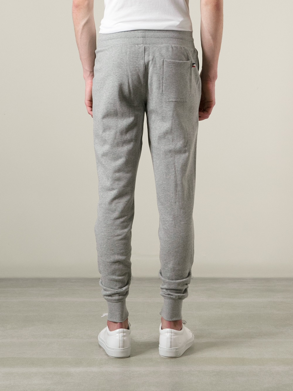 09c9e3c1de7d Moncler Tapered Track Pants in Gray for Men - Lyst