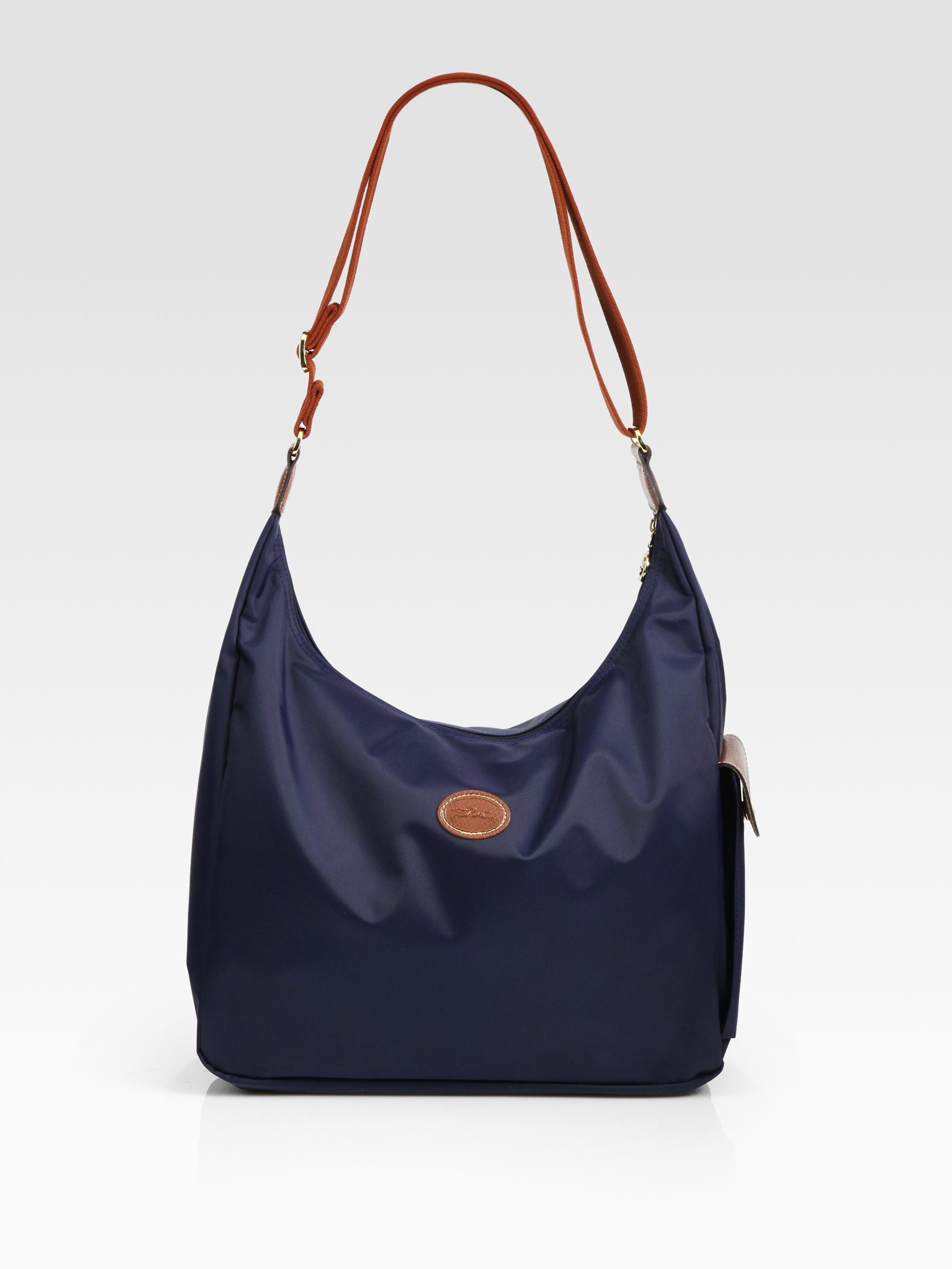 Longchamp Laukku Ale : Longchamp le pliage hobo bag in blue lyst