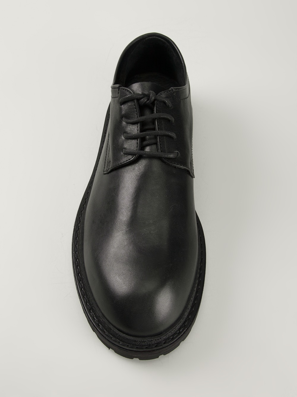 Ann Demeulemeester Black Leather Loafers AVey0gMver