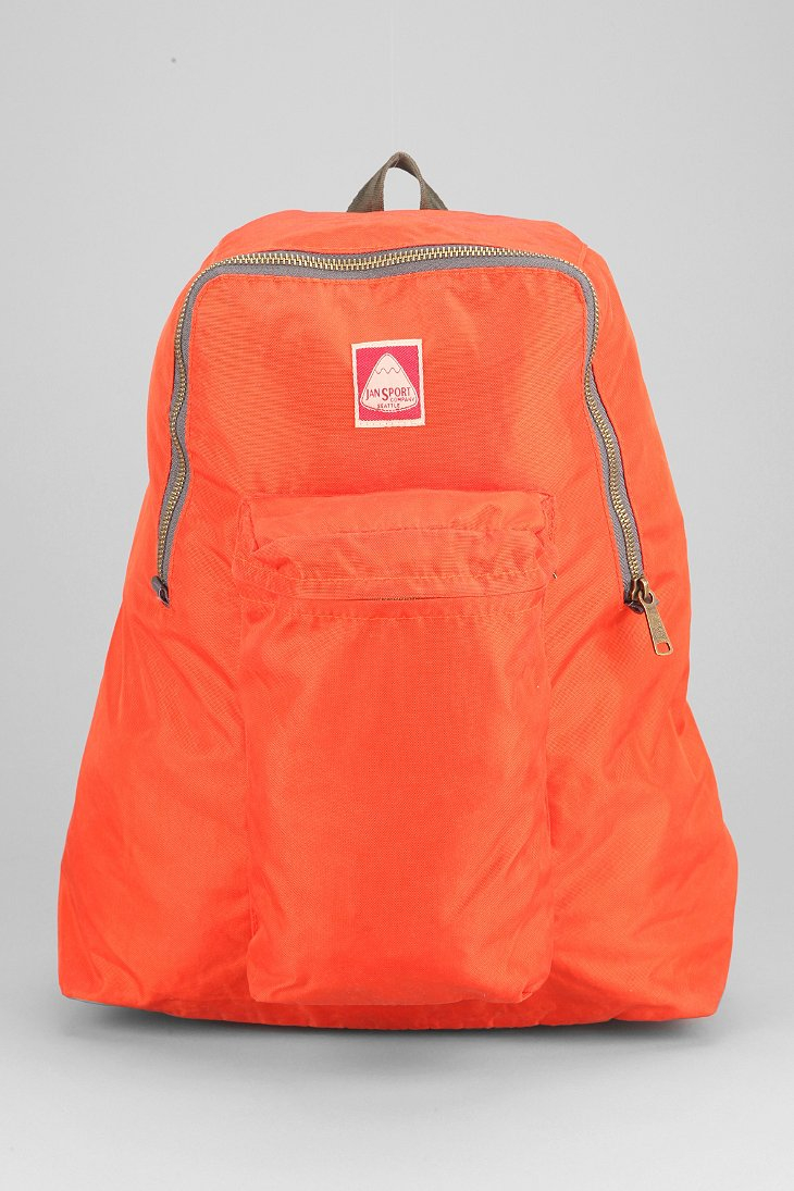 Orange Jansport Backpack - Crazy Backpacks