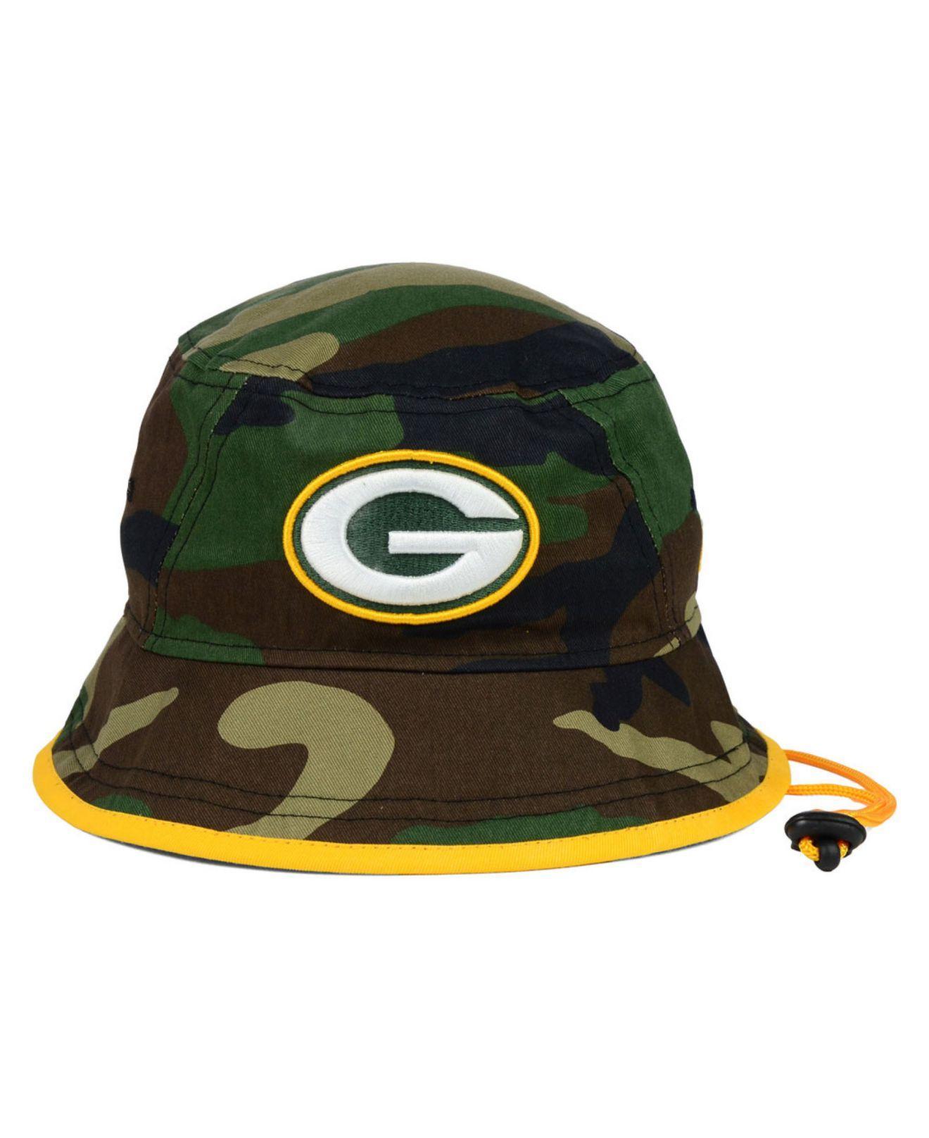 8148674f5689c sweden green bay packers camo bucket hat c62bd 5cf00