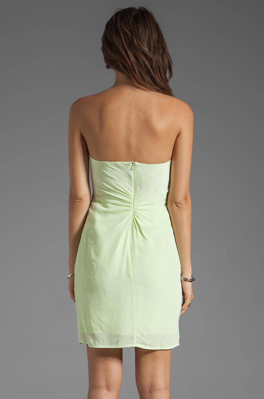Zimmermann Silk Reveal Dress In Yellow In Green Key Lime