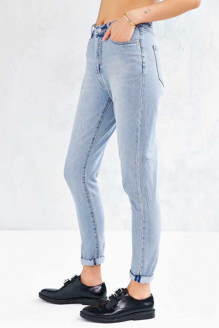 Cheap monday Donna Dream Jean in Blue | Lyst
