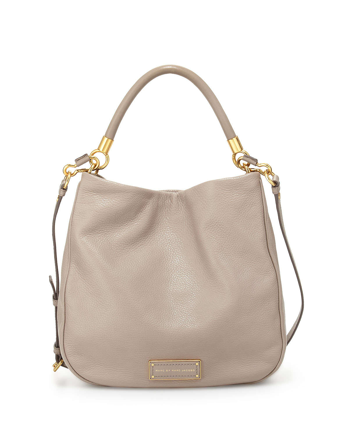 3424dd340856 Marc Jacobs Grey Leather Crossbody Bag nextprev prevnext Source · Lyst Marc  By Marc Jacobs Too Hot To Handle Hobo Bag in Natural