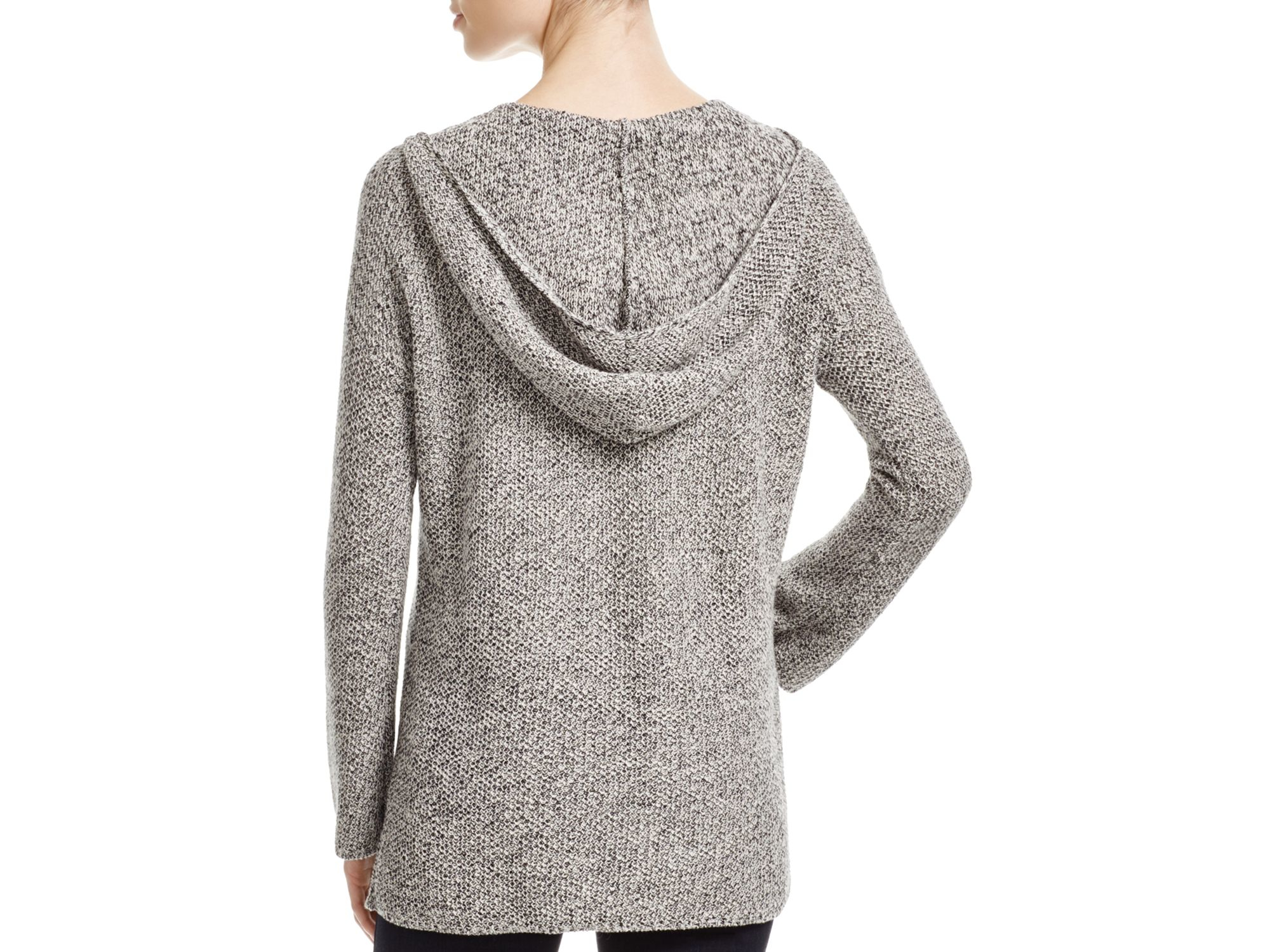 Soft joie Cyrena Hooded Sweater in Gray | Lyst