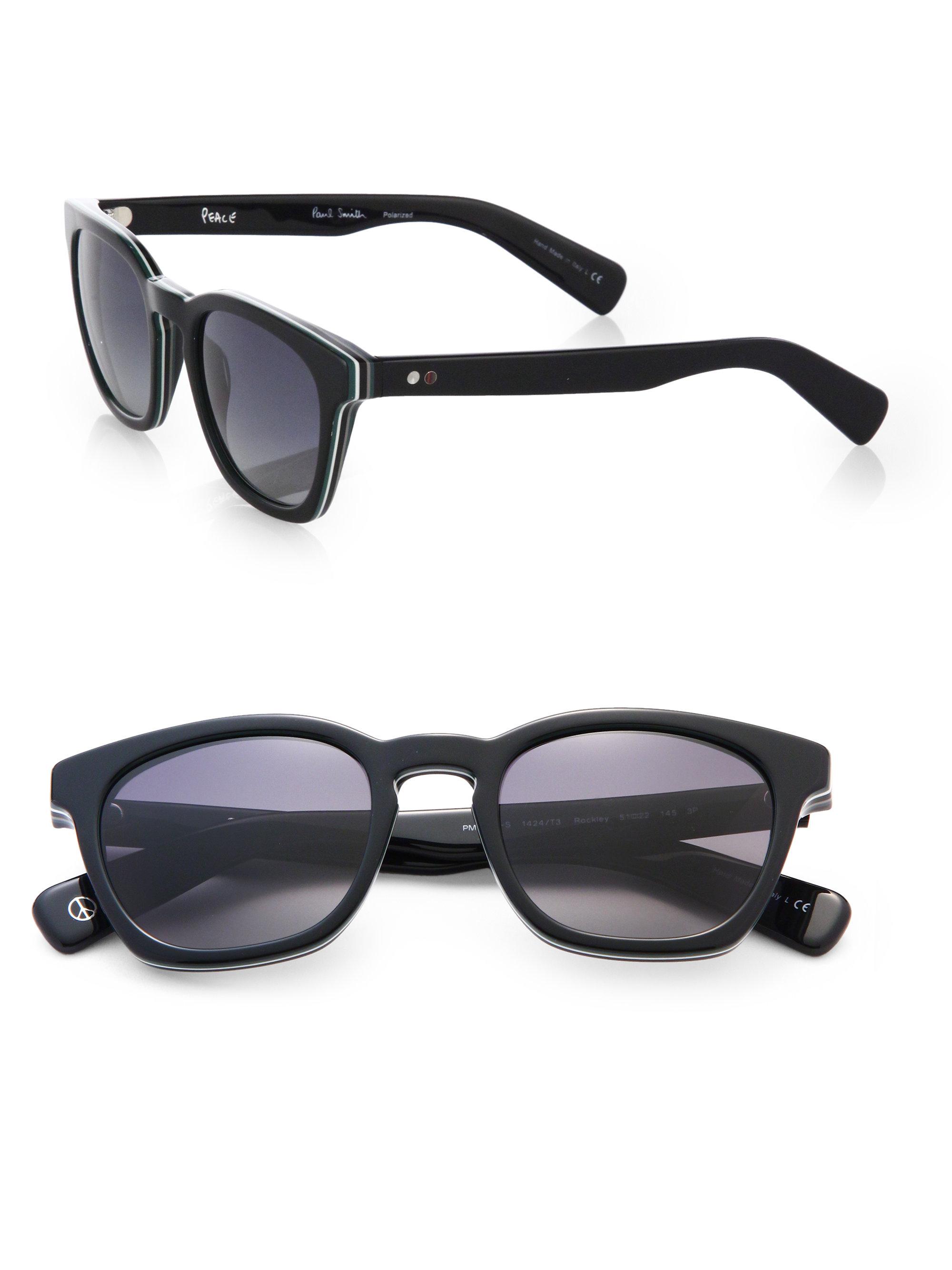 ddf3d547d4152 Lyst For Rockley Men In Paul Sunglasses Wayfarer Smith Black gwxOqrg
