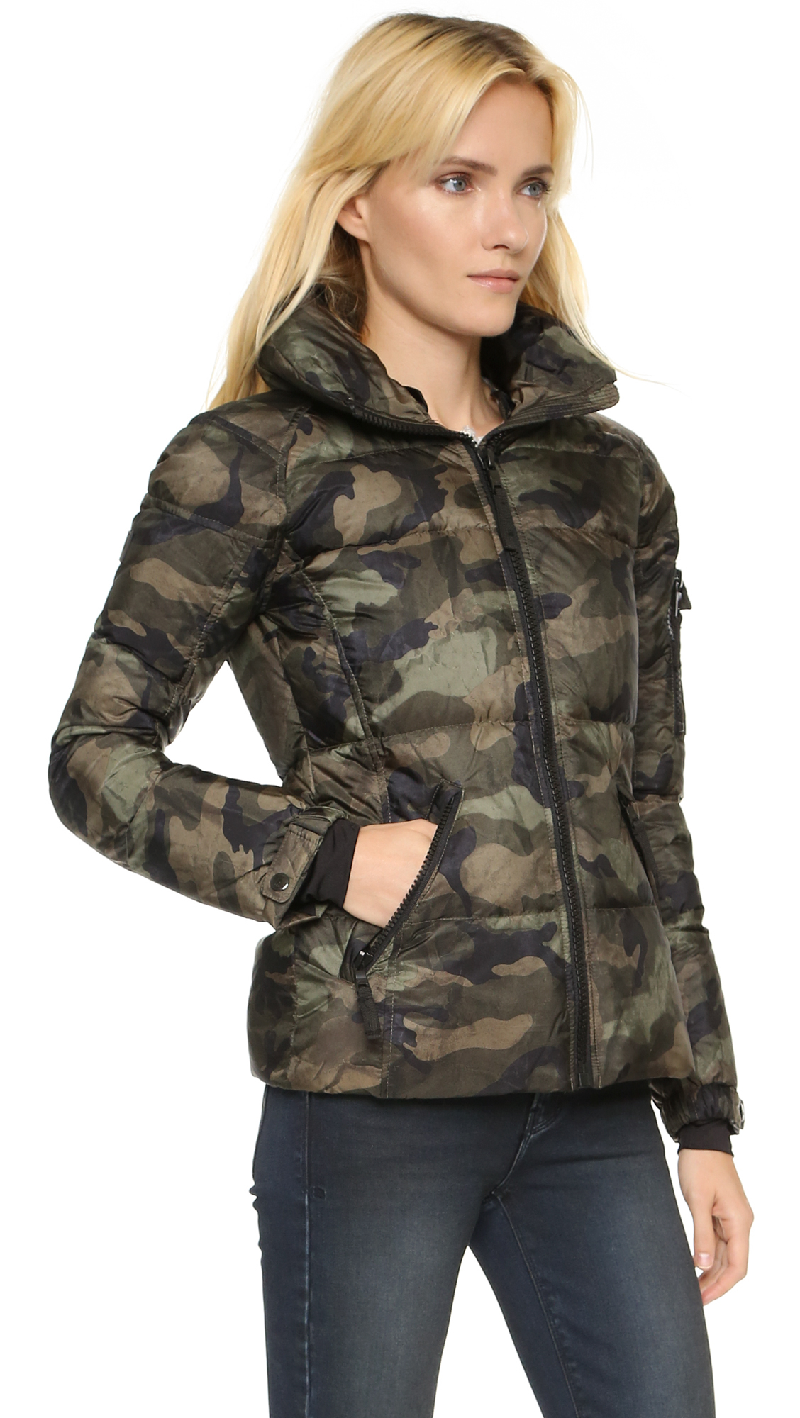 Camo jacket for women fashion