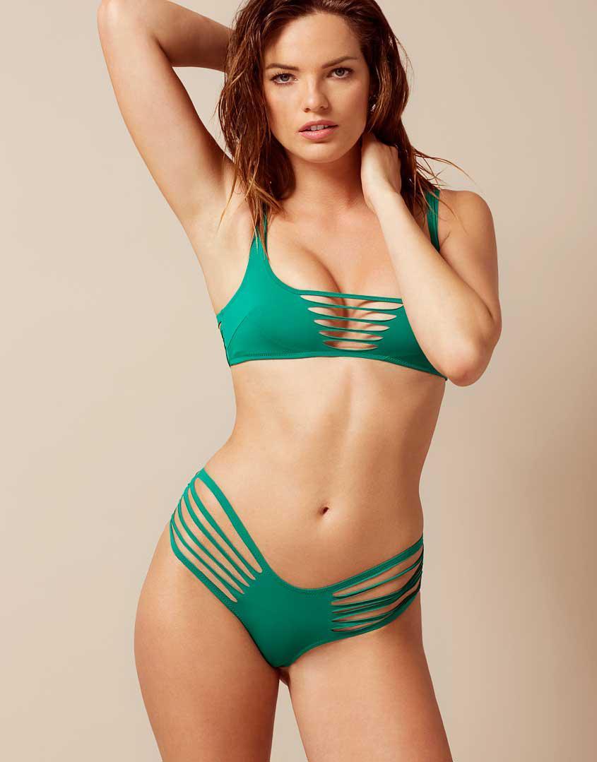 f4190379e3 Lyst - Agent Provocateur Dakotta Bikini Top Green in Green