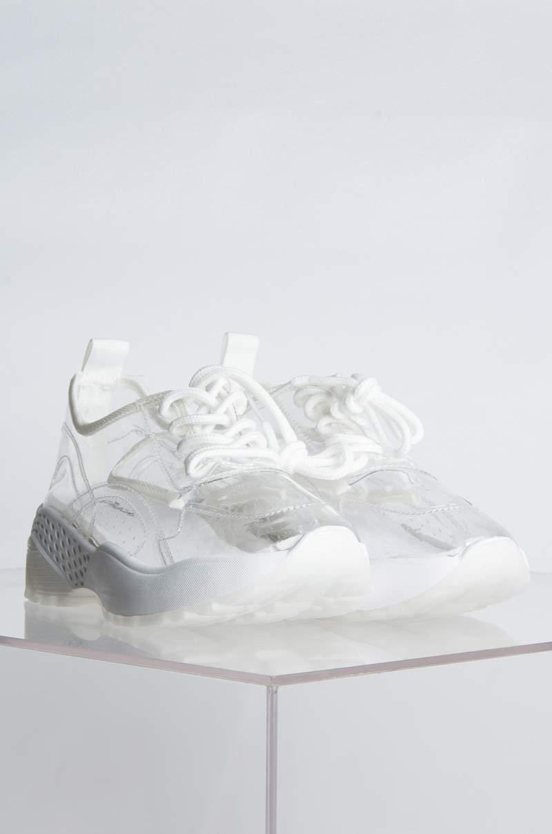 cce2d0497359 AKIRA Nobodys Gonna Find Me Flat Sneaker in White - Lyst