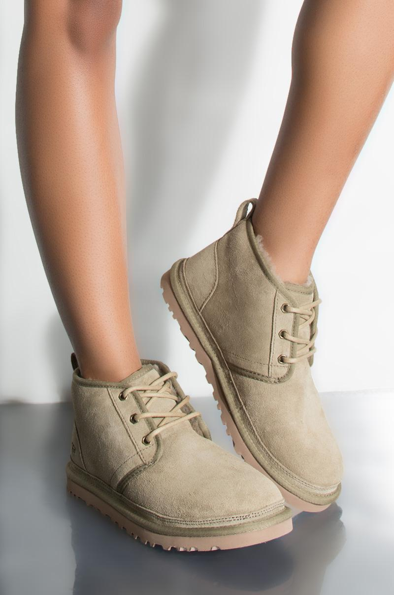 888c59b1a07 AKIRA UGG Classic Neumel Lace Up Boots - Lyst