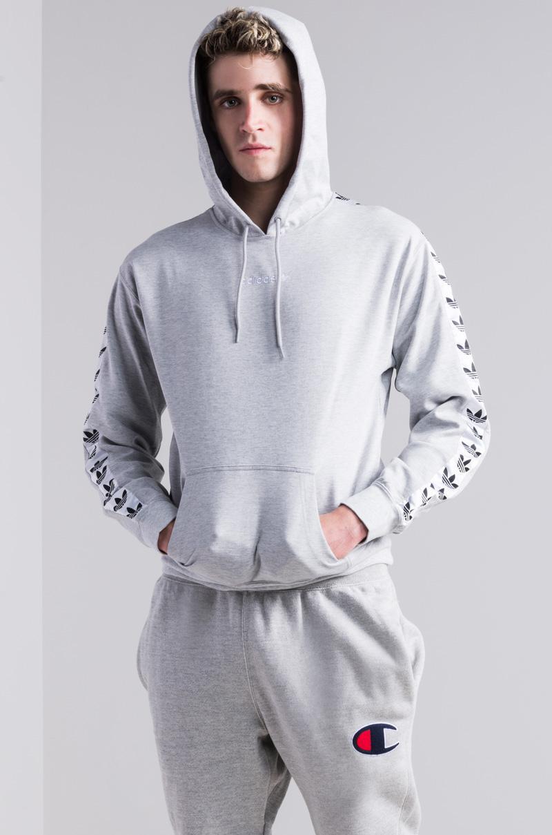79df3454aa09 adidas Originals Tnt Tape Hoodie in White for Men - Lyst