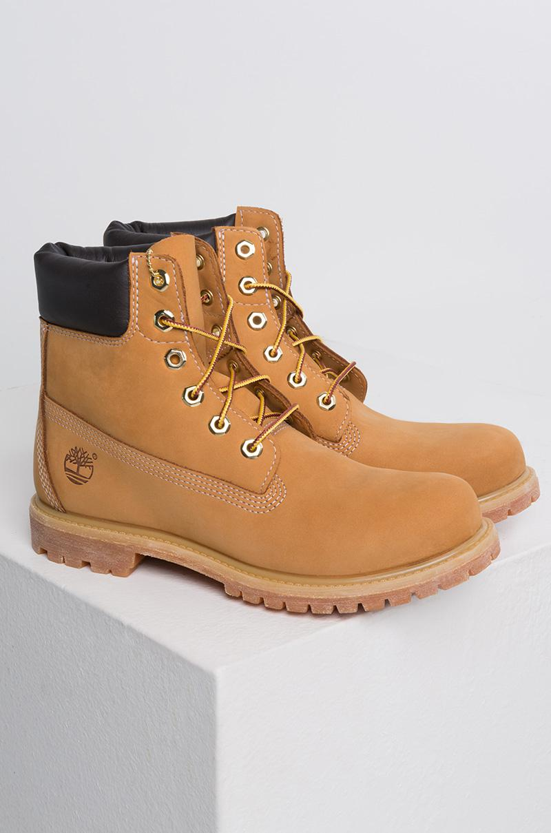 Timberland - Multicolor Women s 6-inch Premium Waterproof Boot - Wheat  Nubuck - Lyst. View fullscreen a3c177616f1e